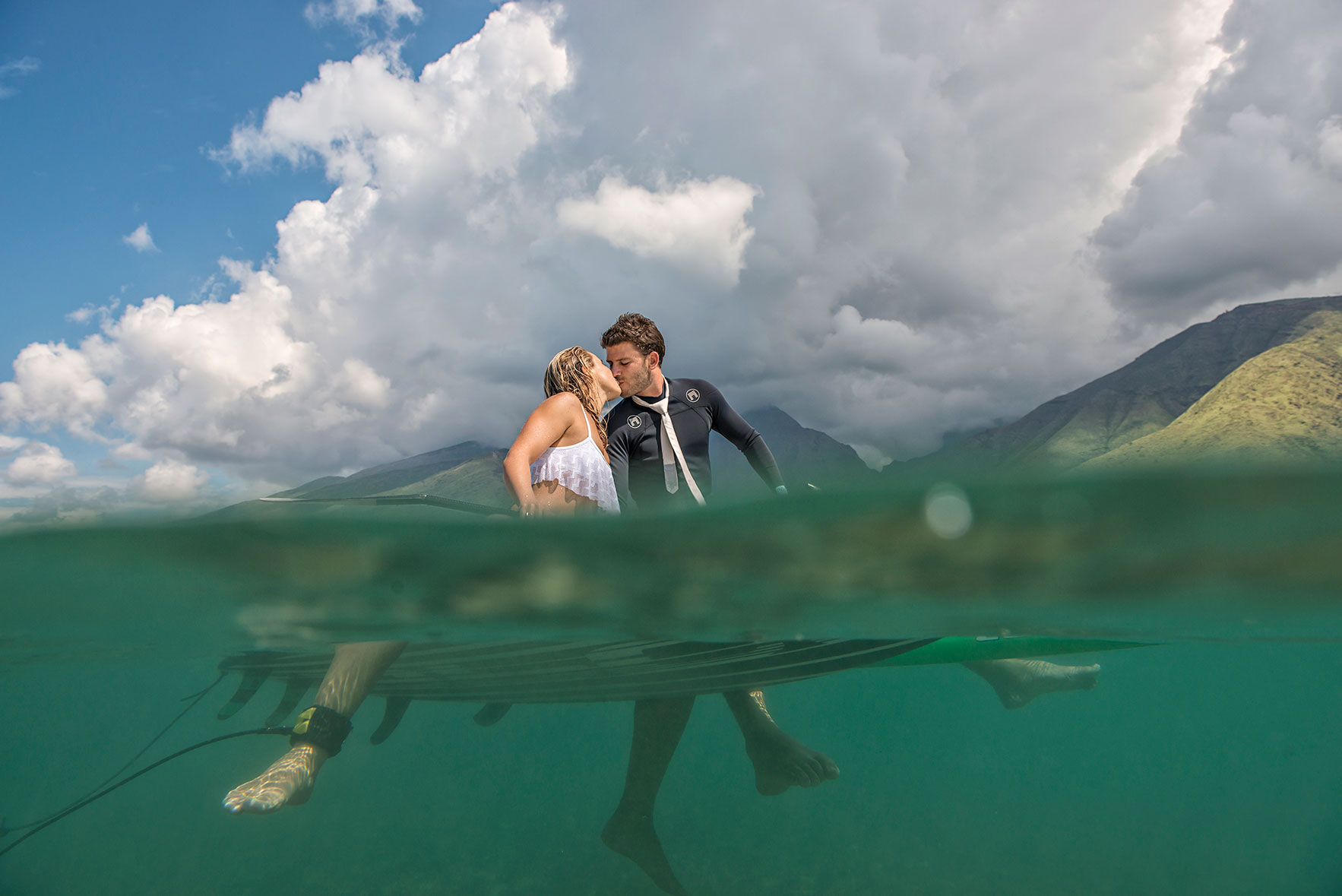 Surf Wedding Ceremony