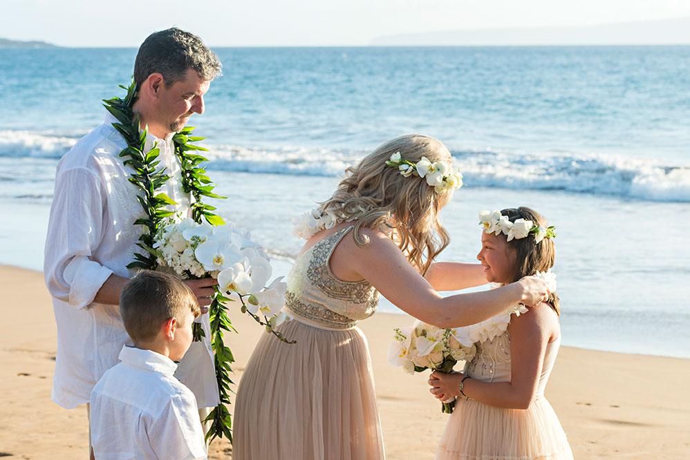 hawaii beach wedding photography