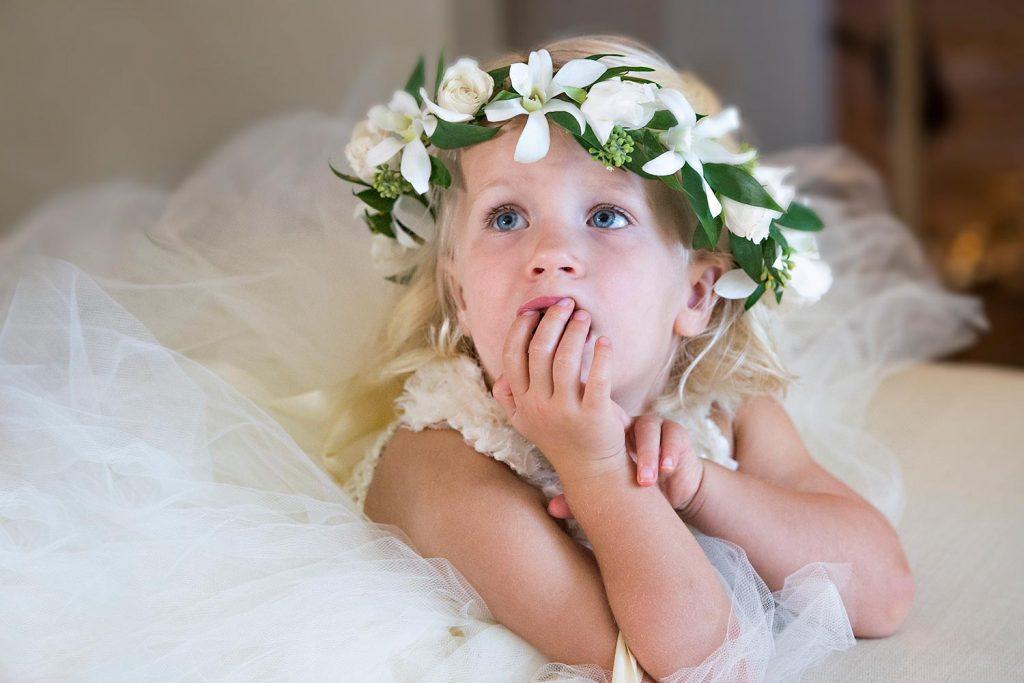 Bridesmaid Maui Wedding Haku Lei