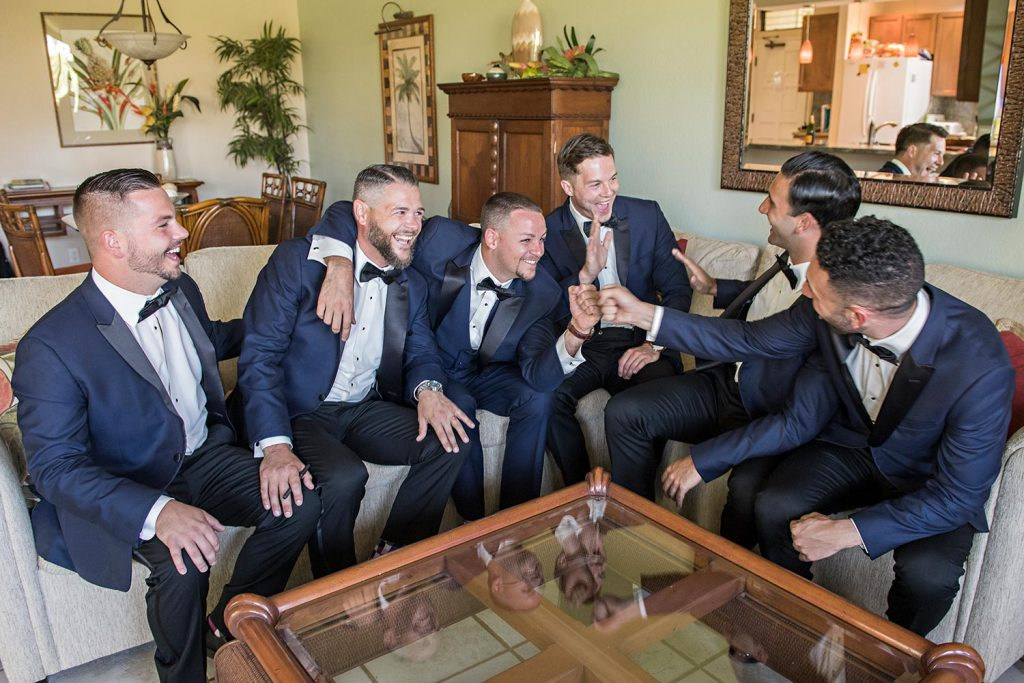 Groomsmen Maui Wedding