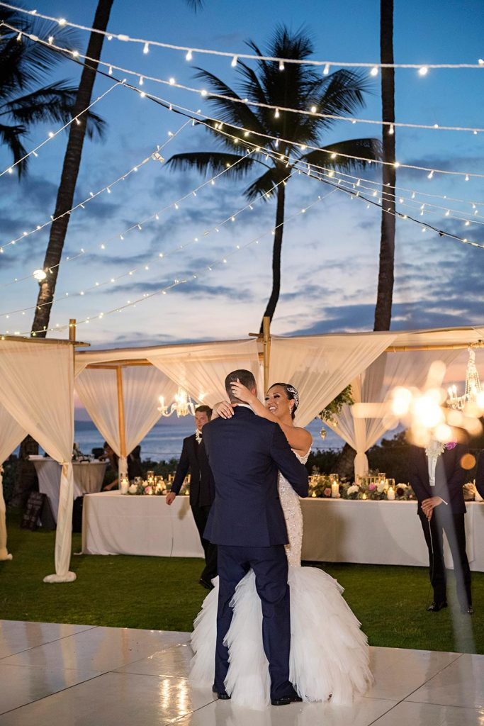 Andaz Wedding Photographer Wailea Maui First Dance