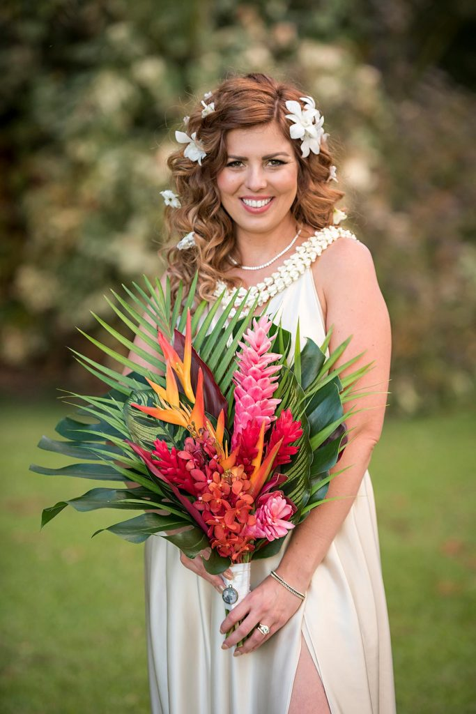 Olowalu Plantation House Bride