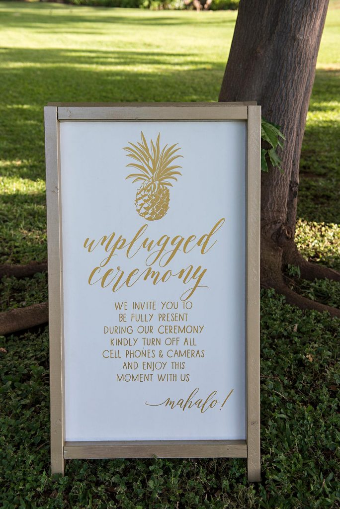 Olowalu Plantation House Wedding Details