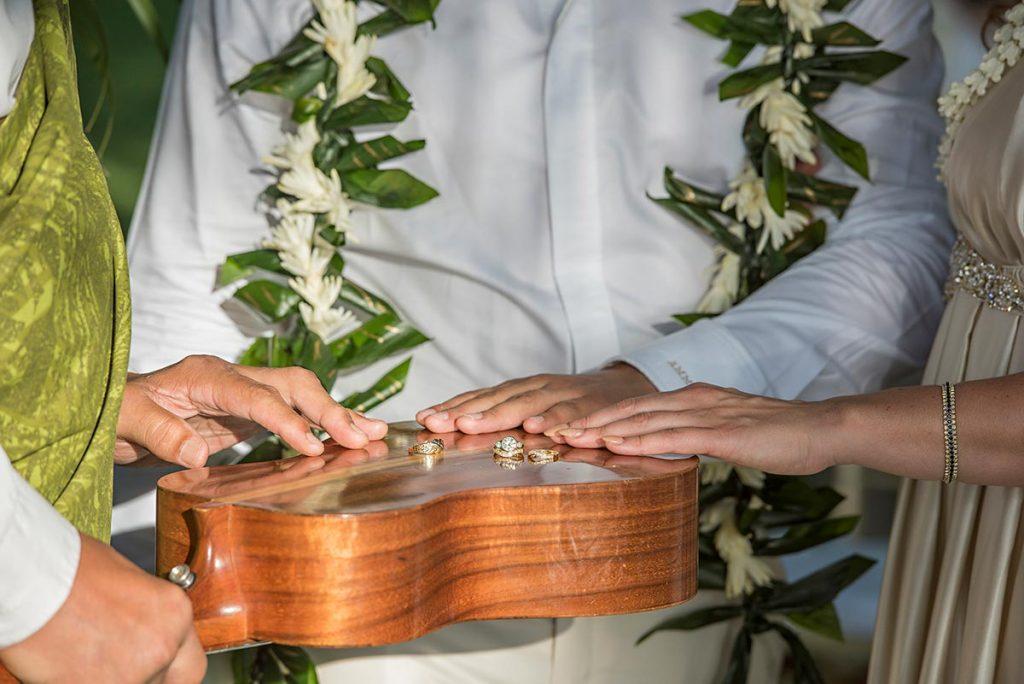 Wedding rings Maui