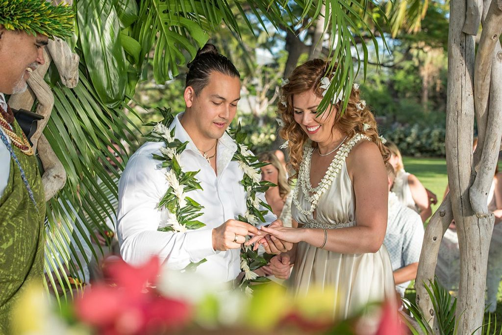 Maui Bride and Groom Wedding Photography