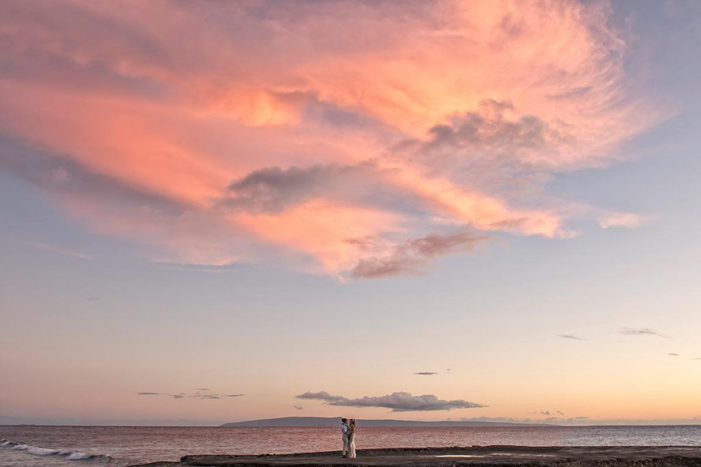 Sunset Wedding Photography Maui