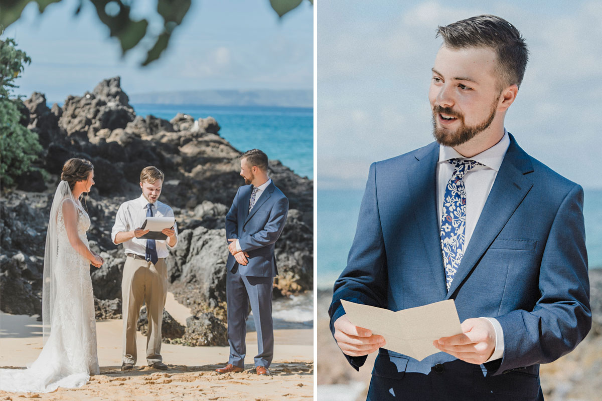 maui beach wedding photography packages