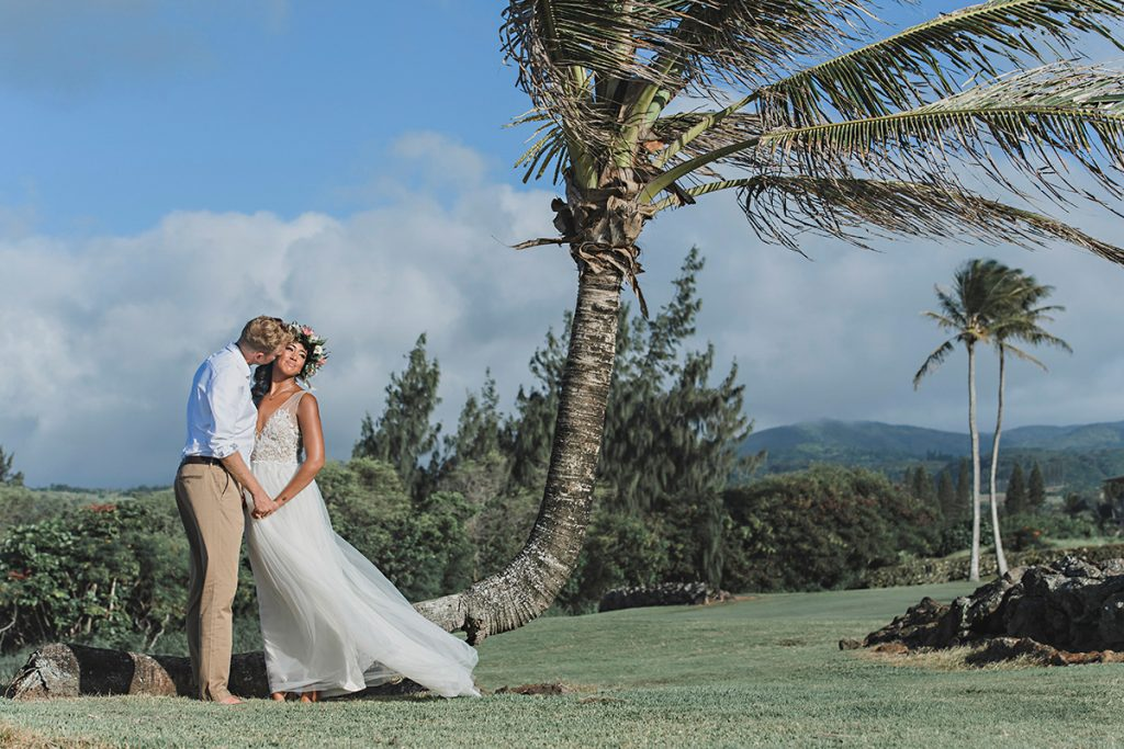 The Steeple House Maui Wedding Photography