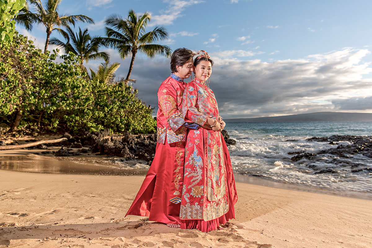 Chinese Wedding Photography Maui