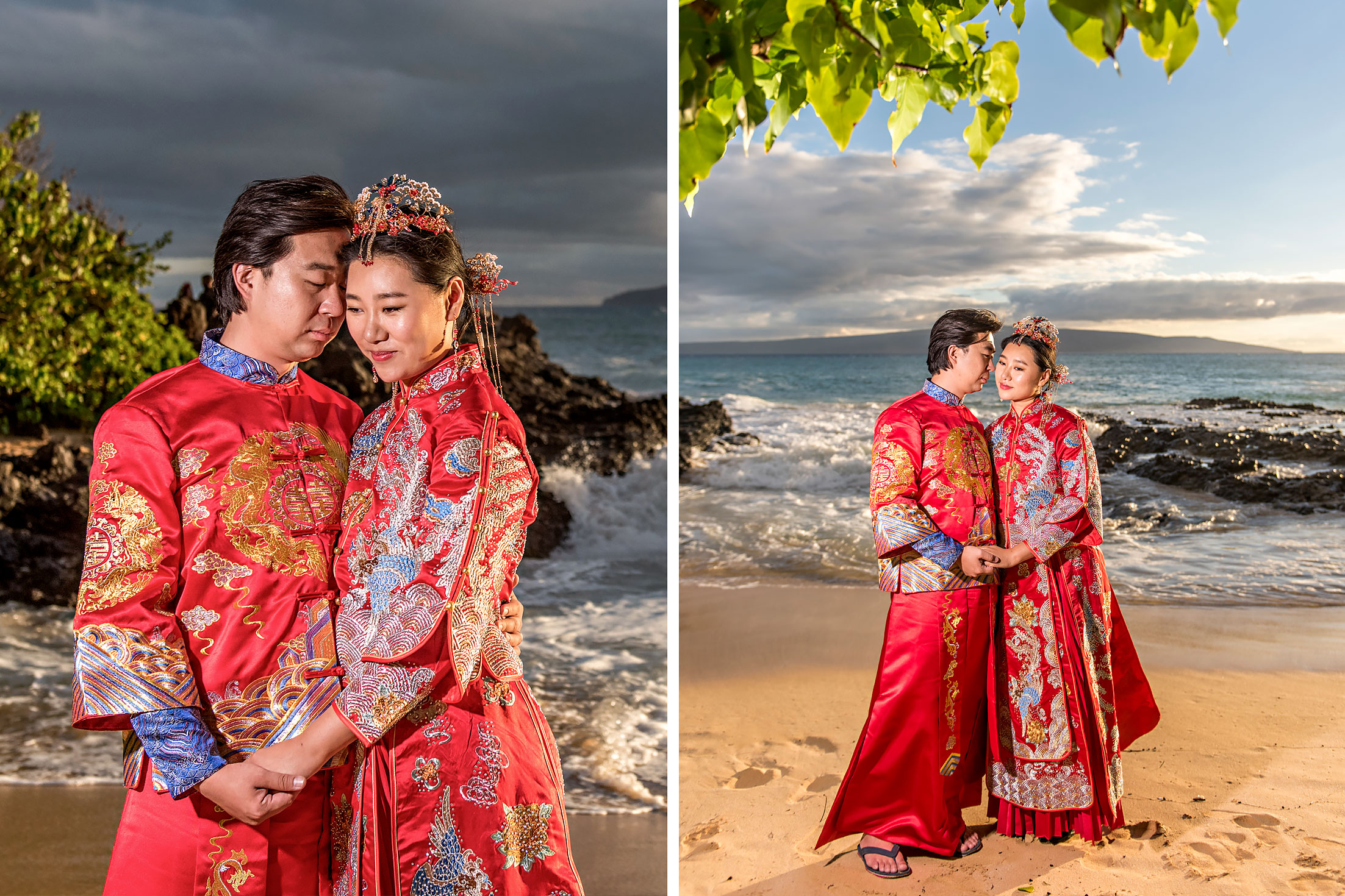 Asian Wedding Photography Maui